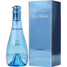 Cool Water Davidoff Women 3.4 oz 100 ml Eau De Toilette Spray New in Box