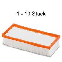 1 - 10x Flachfaltenfilter für Kärcher NT65/2 6.904-283.0 Flachfalten Filter