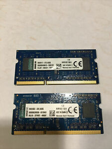 Kingston RAM SO-DIMM 2x4 Go 8Go DDR3-SDRAM PC12800 - KVR16S11S8/4