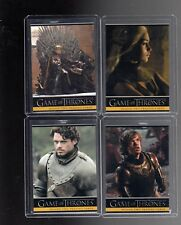 Game of Thrones season 2  P1,P2,P3 and P4 promo cards