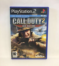 CALL OD SUTY 2 BIG RED ONE - PLAYSTATION 2