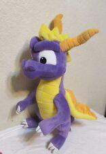 "2001 Spyro The Dragon Play By Play Playstation Stuffed Plush 21"" Universal Studi"