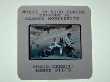 Original 2002 Mtv Press Photo Slide-Music in High Places: Alanis Morissette Rare