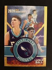 2020 Lamelo Ball Gold Rookie Charlotte Hornets Limited Edition