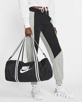 Nike Borsa Borsone bag tg Nero Heritage palestra sport viaggi