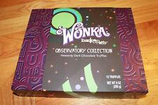 Rare Wonka Observatory Collection Heavenly Dark Chocalate Truffles