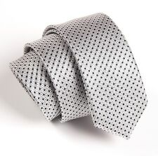 Men's Fashion Black Polka Dot Wedding Neck Tie Necktie Narrow Slim Skinny SK262