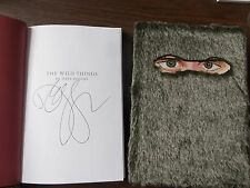 Wild Things (The) by Dave Eggers~ SIGNED ~ 2009 Hardback 1ST/1ST Fur Covered!!