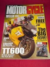 MOTORCYCLE SPORT & LEISURE - TT600 - June 2000 #476