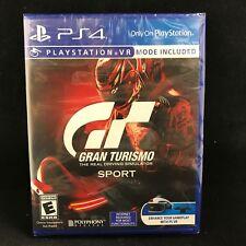 Gran Turismo Sport (Sony PlayStation 4, 2017) BRAND NEW / Region Free