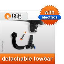 Detachable towbar (vertical) Vauxhall Combo D 2012 onwards + 13-pin electric kit