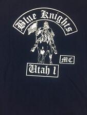 blue knights motorcycle club tee shirt utah Size XLarge