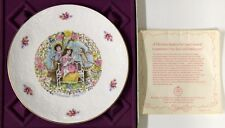 Royal Doulton Valentine'S Day 1978 Collector's Plate With Box