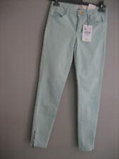 Pantalon ZARA neuf avec étiquette coloris :vert d'eau/menthe taille:38
