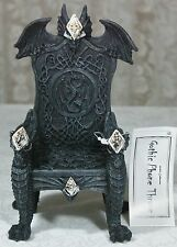 Gothic Phone Throne Mobile Phone Holder 16cm Poly Resin 9319844287715 DRAGCHM