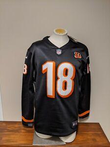 Nike Men's A.J. Green Cincinnatti Bengals Football Jersey Sweatshirt Size L New