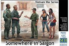 MasterBox MB35185 1/35 Somewhere in Saigon Vietnam War Series