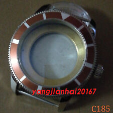 46mm Bliger Watch Case Fit ETA 2836,DG2813/3804,Miyota 8205/8215 Movement C185