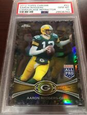 2012 Topps Chrome Camouflage Refractor Aaron Rodgers PSA 10 Gem Mint