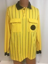 Vintage Soccer Referee Jersey M Costume Halloween Mens High 5 Polyester Uniform