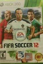 Official EA Sports FIFA Soccer 12 (Microsoft Xbox 360, 2011)