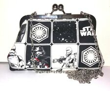 STAR WARS FORCE AWAKENS TROOPER BLACK & WHITE HANDMADE HANDBAG BY GEEK BOUTIQUE