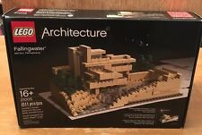 LEGO Architecture Fallingwater Lloyd Wright (21005) W/Instruction Book COMPLETE