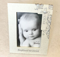 Roman Inc. Baptized In Christ Boys And Girls Picture Frame Holds 4 X 6 Photo