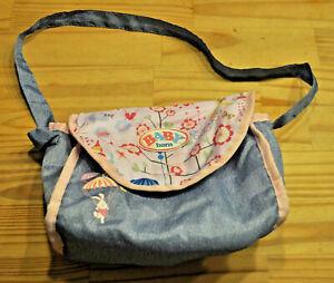 Baby Born ❤️ Tasche für Kinderwagen, Wickeltasche für 43 cm Puppe
