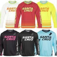 Cycling Jersey men Long Sleeve Mountains Bike Santa Cruz Downhill motorcross