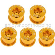 5Pcs Alloy Crankset Screw Bicycle Crank Arm Bolts for MTB Road Bike Gold