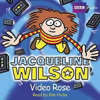 Jacqueline Wilson Video Rose CD Audio Book NEW* Abridged Kim Hicks FASTPOST