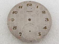 Original Art Deco Metal Dial (Watch-face) Doxa Antique 1900's Swiss Pocket Watch
