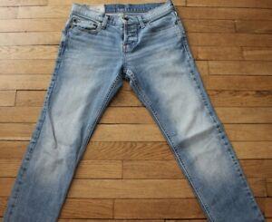 HOLLISTER  Jeans pour Homme W 30 - L 30  Taille Fr 40 SUPER SKINNY  (Réf # O189)