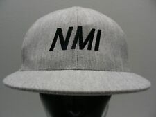 NMI - WALLA WALLA - GRAY - 7 1/4-7 5/8 SIZE STRETCH FIT BALL CAP HAT!