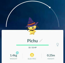 Pokemon Go Witch Hat Pichu [TRADE OFFER]