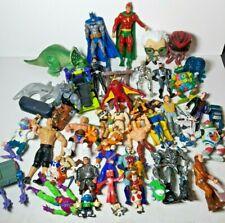 Large Junk Lot of Vintage Modern Boys Toys Action Figures TMNT Superheroes #2
