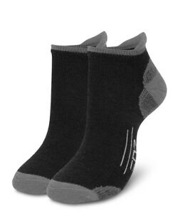 EDZ All Sport Merino Trainer Socks Black