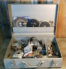 Vintage Millers Falls  Dyno-Mite Tool Box With Tools and Accessories.