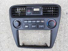 98 99 00 Honda Accord Climate AC Heater Control Radio Trim Bezel