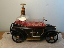 Vintage Musical Car Bar Liquor Set w/ Decanter and 6 Shot Glasses Made in Japan