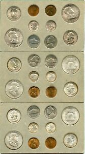 Genuine 1953 US 30 Coin PDS Double Mint Set