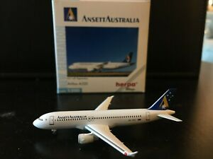Ansett Australia Airbus A320 Herpa Wings 1:500 LIMITED EDITION Model Airplane