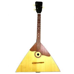 Brand New Russian Balalaika, 3 Strings, Prima. High Quality! Natural Wood! 389