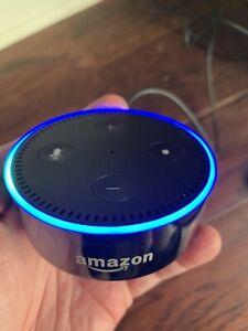 Amazon Echo Dot (2nd Generation) Smart Speaker/Assistant - Black