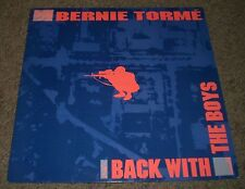 Back With The Boys Bernie Torme~1985 UK Import Hard Rock~VG++ Vinyl~FAST SHIP!!!