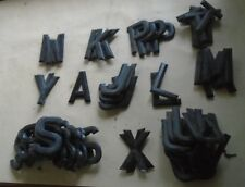 """ACE  NUMBER PLATE DIGITS / LETTERS  3 1/8""""  - NEW OLD STOCK,     FREE P+P"""