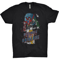 Voltron T Shirt Defender Of The Universe Japan Anime World Events Productions
