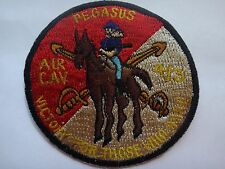 US Army 4th Squadron 3rd Armored Cavalry Regiment PEGASUS AIR CAV Patch