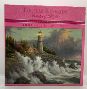 NEW A 1000 PIECE JIGSAW PUZZLE BY THOMAS KINKADE CONQUERING THE STORM Brand New